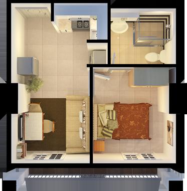 Apple one villas pres - Single floor housessquare meters ...
