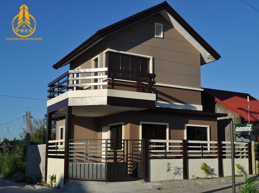 Villa Alexandra Homes Bacolod Plan 95 Pres