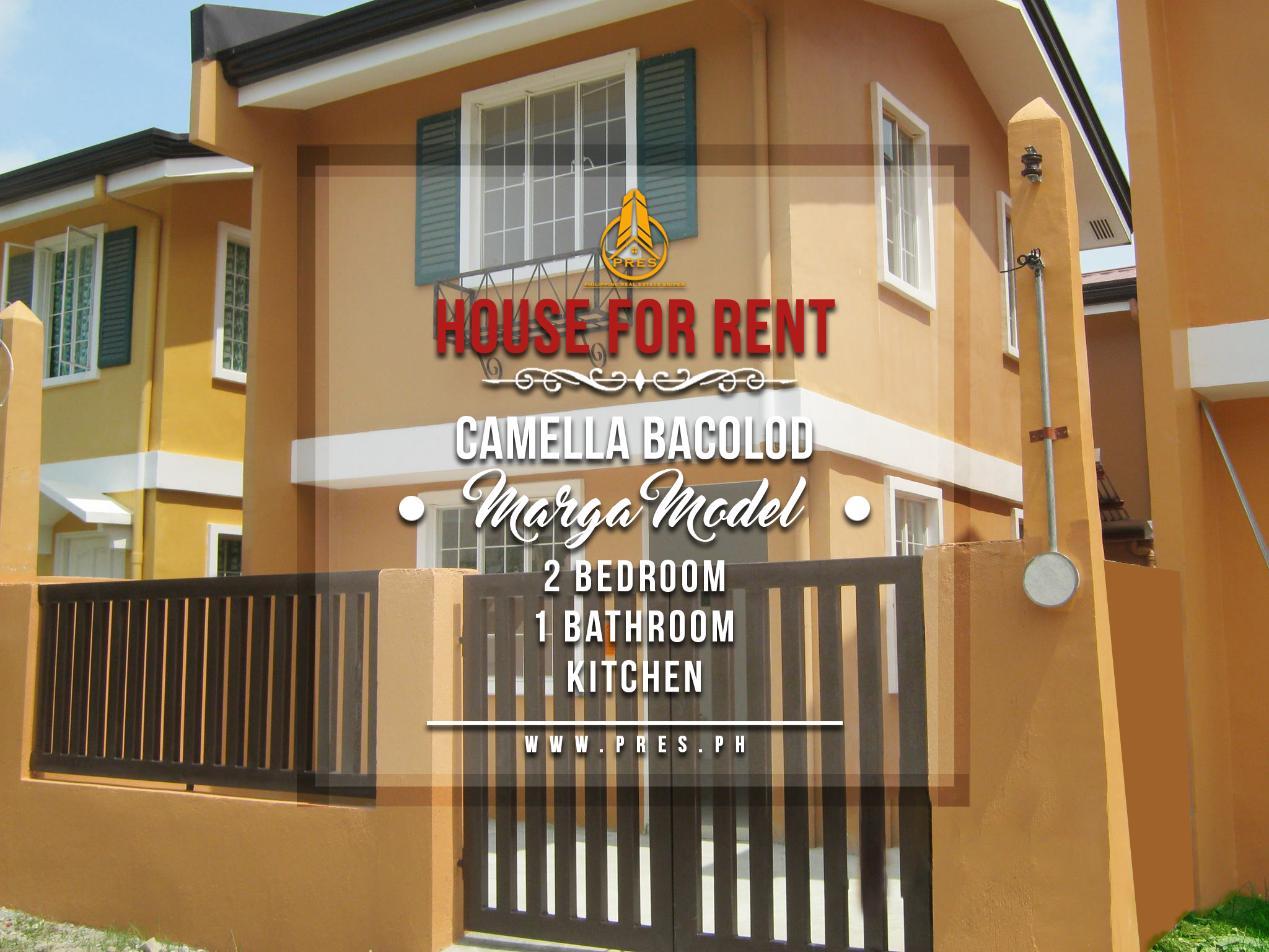 House For Rent in Camella Bacolod PRES