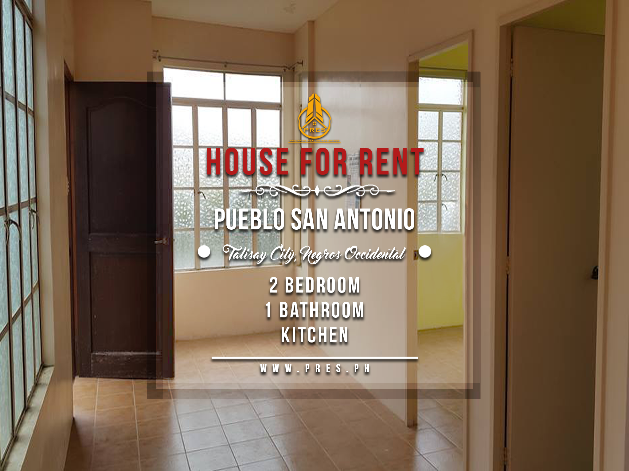 House for rent in talisay city negros occidental pres for 2 bedroom house for sale san antonio