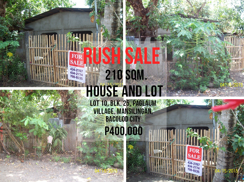 House And Lot For Sale In Mansilingan Bacolod City Pres