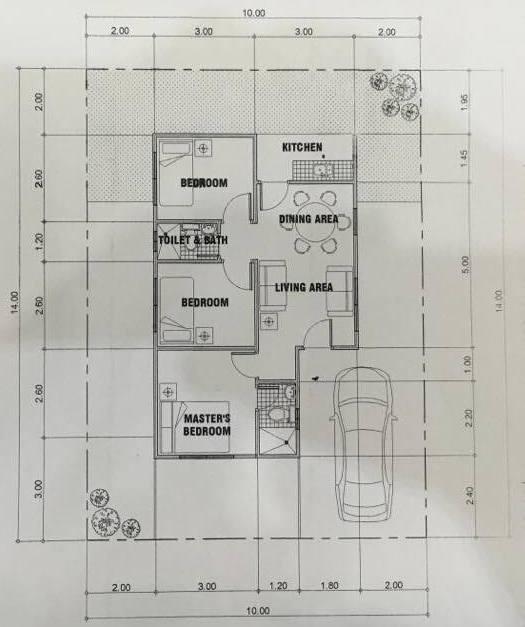 East Villas Bacolod 3 Bedroom Pres