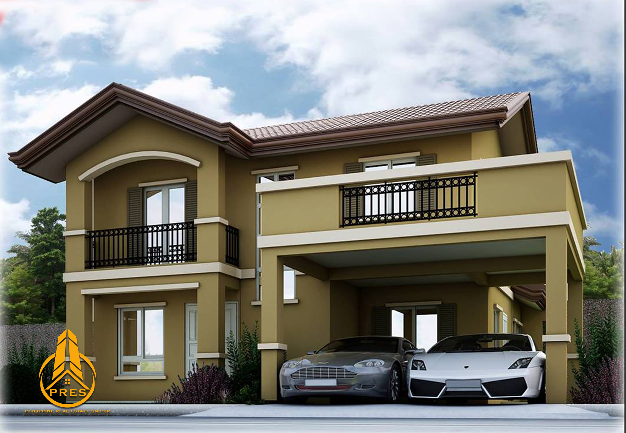 3 Bedroom Townhouse For Rent Camella Bacolod South Greta Model Pres